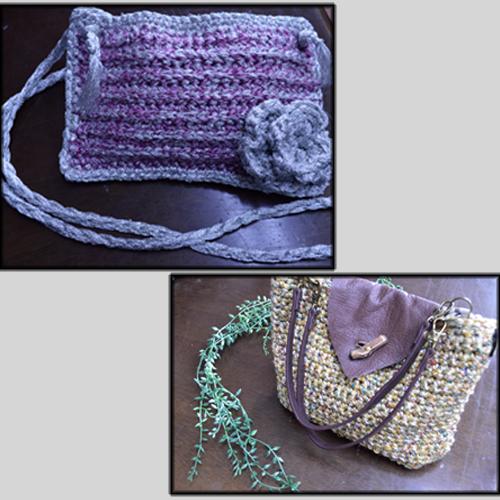 手編みバッグ