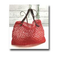 夏ネット編みバッグ