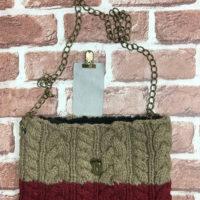 手編み鎖のショルダーバッグ