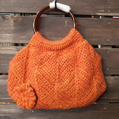 モザイク編み、グラニューバッグ
