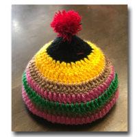 子供のかわいい秋冬ニット帽