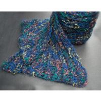 手編みメンズマフラー