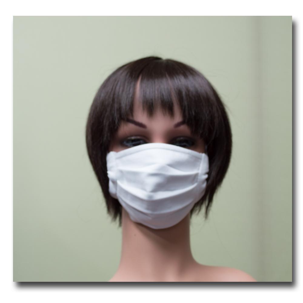 ビジナス用白無地マスク
