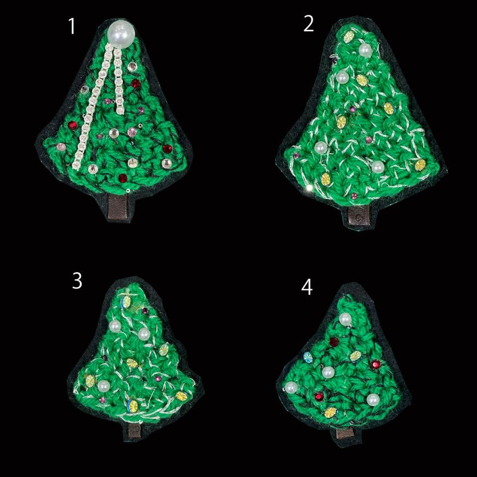 クリスマスのブローチ